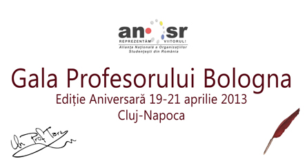 Gala Profesorului Bologna ANOSR