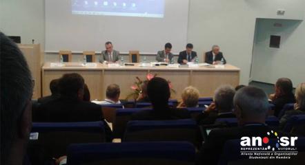 Consiliul National al Rectorilor CNR - studenti - ANOSR - buget educatie