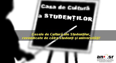 ANOSR Studenti CCS Case de Cultura ale Studentilor