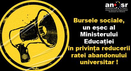ANOSR bursele sociale - un esec al Ministerului Educatiei