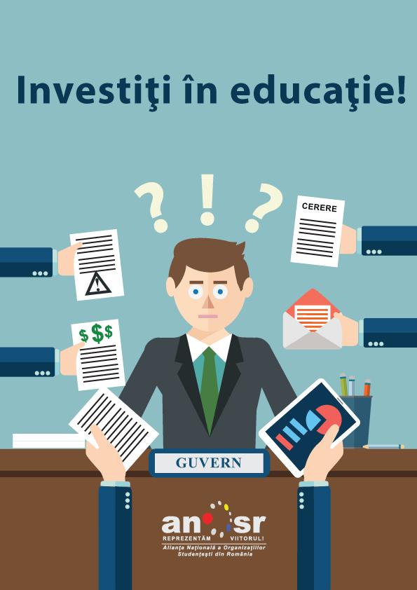 Propunere ANOSR – plan de guvernare pentru învățământul superior