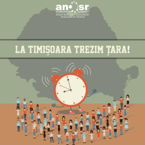 La Timișoara trezim țara!